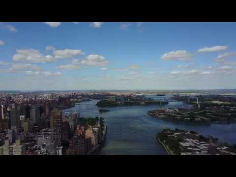 East River Drone Footage NYC