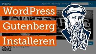 Installeren van de WordPress Gutenberg editor (beta plugin)