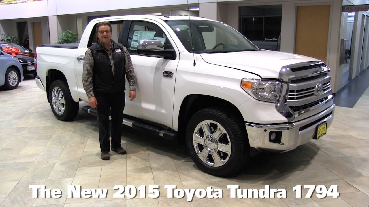 Tundra Double Cab >> The New 2015 Toyota Tundra 1794 Minneapolis St Paul Golden Valley Brooklyn Park MN Walk Around ...