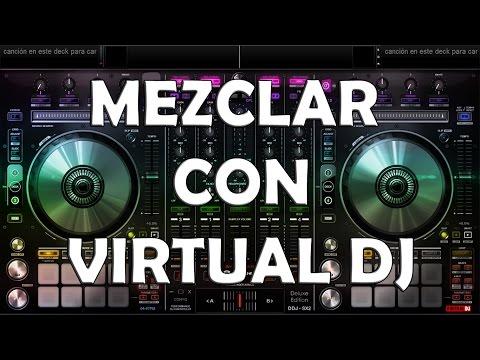 Como utilizar y mezclar música electrónica 2015 en Virtual DJ PRO - (Bien explicado)