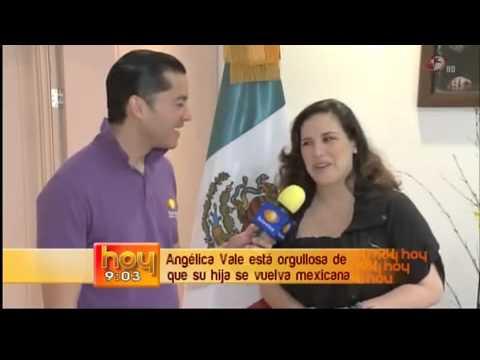 La hija de Angélica Vale ya tiene la nacionalidad Mexicana ...