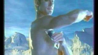 "Телевизионная реклама Gillette ""Арктик айс"" 2002 года"