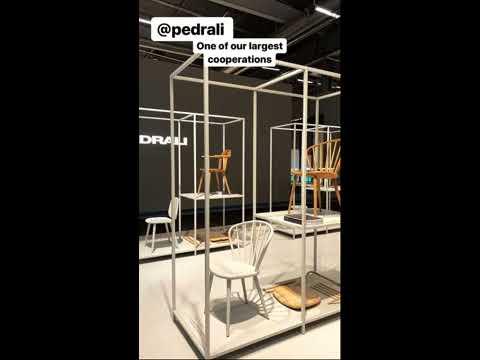 Stockholm Furniture & Light Fair - PSI Sisustus Instagram Story