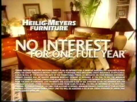 Heilig Meyers Furniture 2000 Youtube