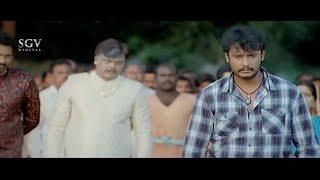Sharath Lohithashwa Insults & False Blame On Darshan | Sarathi Kannada Movie Super Scenes