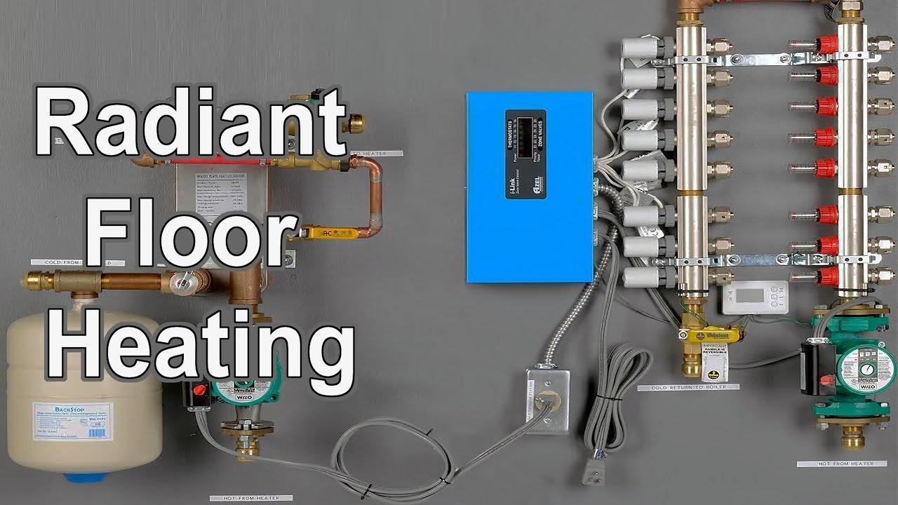 hight resolution of radiant floor heating diy radiant floor heating system kits youtube