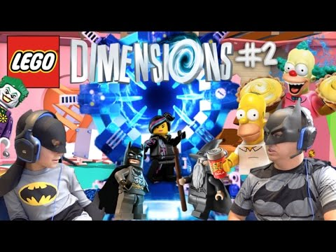 Meltdown at Sector 7-G THE SIMPSONS Lego Dimensions #2