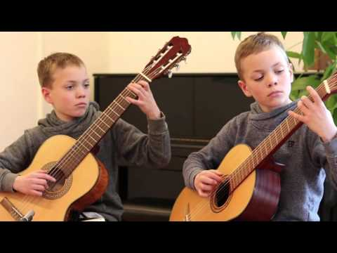 Junker Twins (9) play Toccata for a Wild Old Lady by Peter Horton