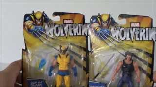 MARVEL THE WOLVERINE: HERO BLADE LOGAN AND WARRIIOR CLAW WOLVERINE