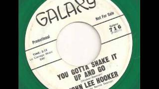 JOHN LEE HOOKER - YOU GOTTA SHAKE IT UP AND GO