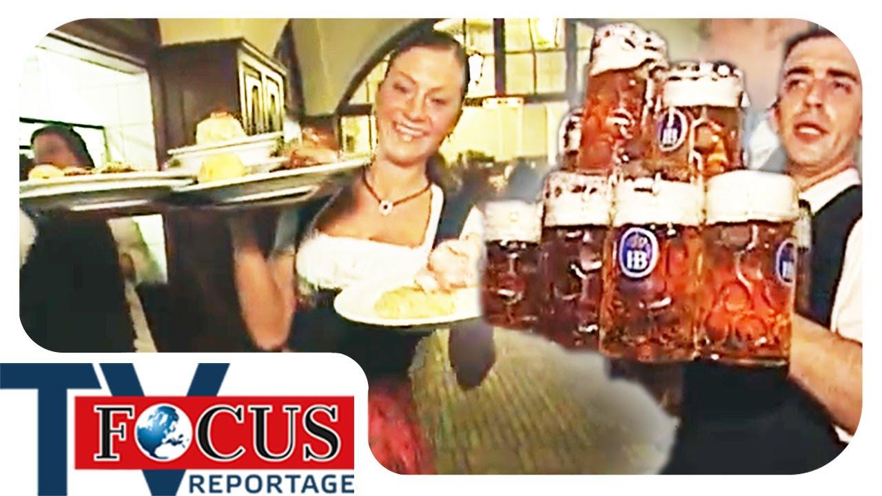 Arbeiten im größten Wirtshaus der Welt - Das Hofbräuhaus in München | Focus TV Reportage