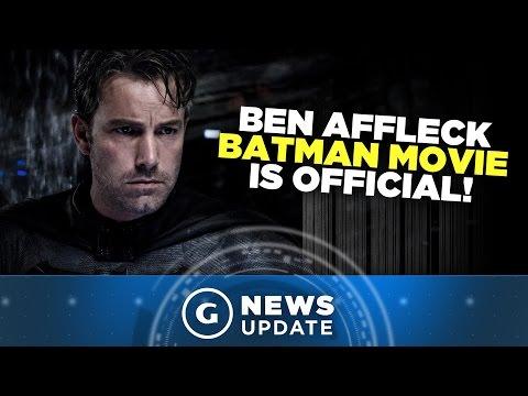 New Batman Movie With Ben Affleck Now Official - GS News Update