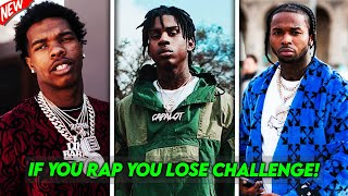 IF YOU RAP YOU LOSE! (IMPOSSIBLE CHALLENGE!)