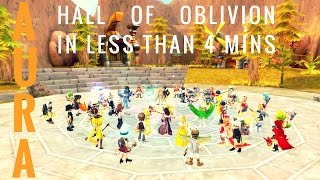 ROSE Online Hall of Oblivion Mammy Queen 3mins 32secs record