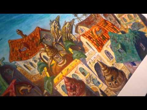 """Rishadan Port"" Original Artwork sells for Record Price   Exclusive Collector Interview"