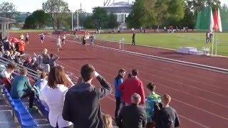 200 м. 7 забег. Открытый Кубок Санкт-Петербурга по лёгкой атлетике 1998 и старше.