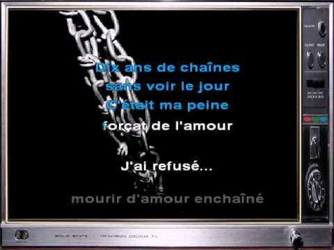 johnny hallyday gabrielle karaoke youtube. Black Bedroom Furniture Sets. Home Design Ideas