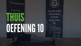 Thuisoefening 10 | Moventes Fysiotherapie