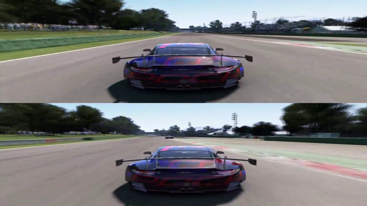 project cars 2 first real game play of the split mode to be demoed ...