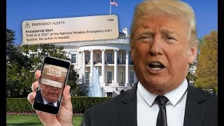 DID PRESIDENT TRUMP JUST TEXT YOU? CONGRATS YOU MAY SOON BE GETTING USHERED INTO A FEMA CAMP!