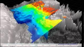4D Ocean Model Visualization