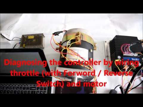 [DIAGRAM_4PO]  CURTIS DC SepEx Controller 1268-5403 Diagnostics - YouTube | Curtis Dc Motor Controller Wiring Diagram |  | YouTube