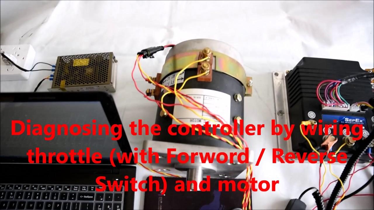 CURTIS DC SepEx Controller 12685403 Diagnostics  YouTube