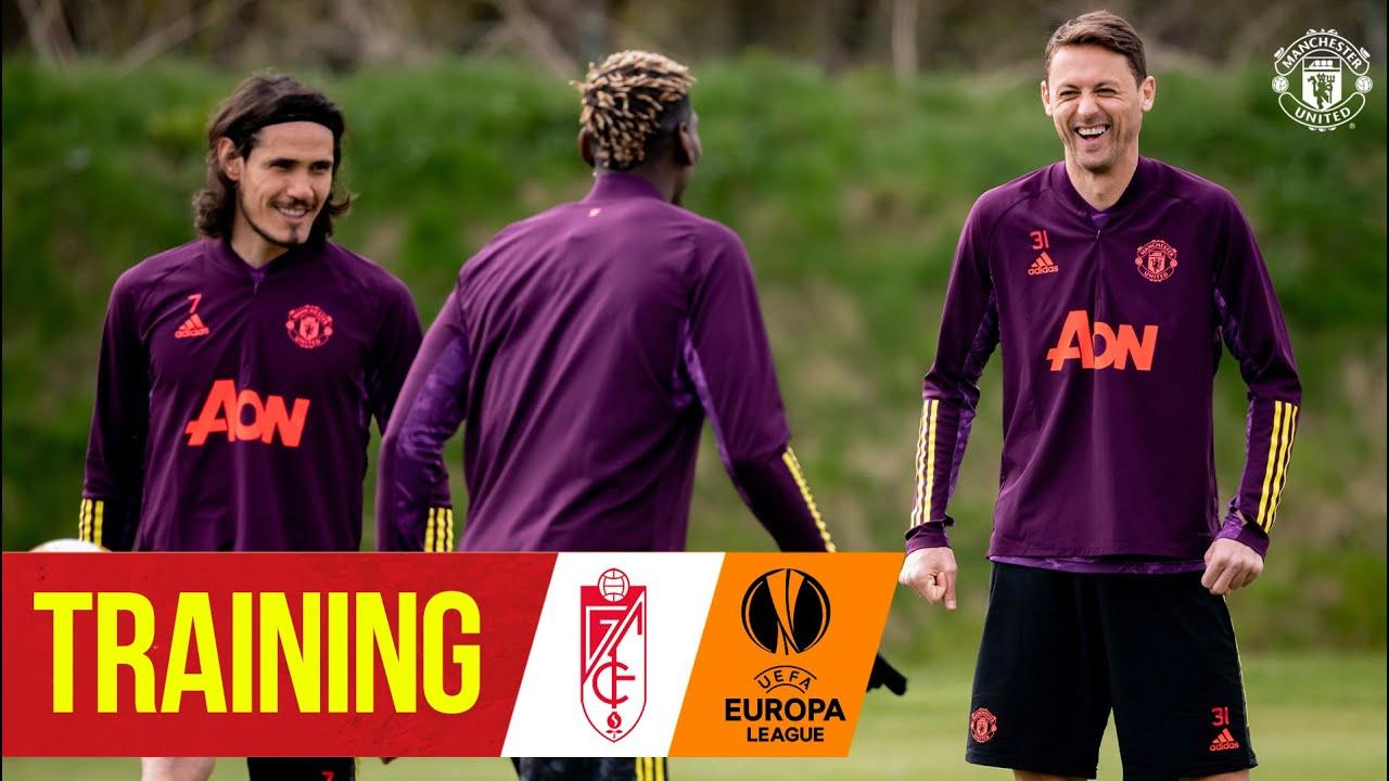 Training   Reds prepare for Granada CF return leg   Manchester United   UEFA Europa League