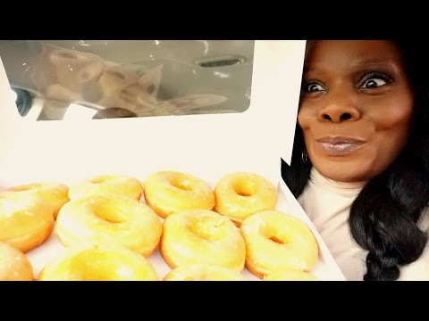 🍩 Dunkin Doonuts ASMR Ramble Chewing Gum 👅🍬 Relaxation VLOG