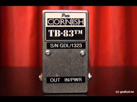 PETE CORNISH TB 83 LIVE SOUND