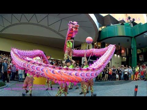 Chinese Dragon Dance | Lunar New Year 2018 | Sungei Wang Plaza | Kuala Lumpur
