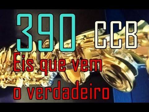 Hino 390 CCB - Eis que vem o verdadeiro - Flauta Transversal - Antony Andrey