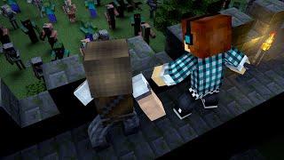 Minecraft : Monstros Vs Humanos !!