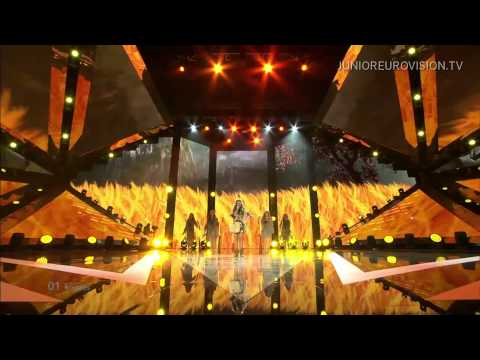 Nadezhda Misyakova - Sokal (Falcon) (Belarus) LIVE Junior Eurovision Song Contest 2014