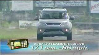 Motorweek Video of the 2007 Mitsubishi Outlander