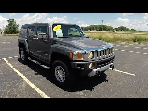 2008 Hummer H3 Alpha SUV 4X4|Walk-Around Video|In-Depth Review|Test Drive