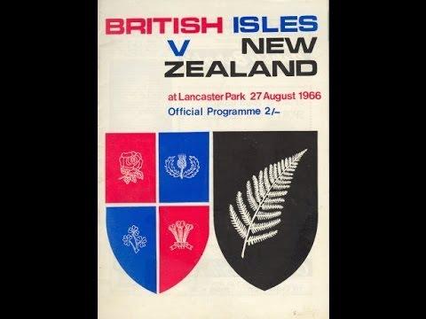 1966 All Blacks vs British Irish Lions 3rd Test (Highlights)