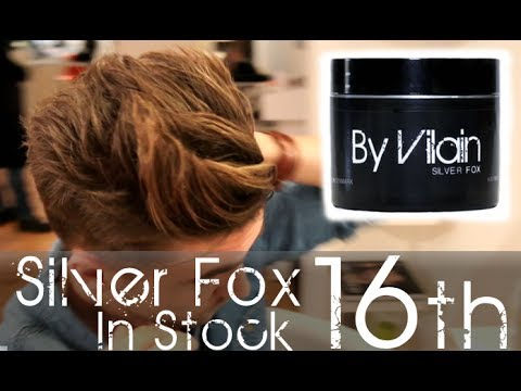 Quick Hair Fix Mens Everyday Hairstyle By Vilain Silver Fox
