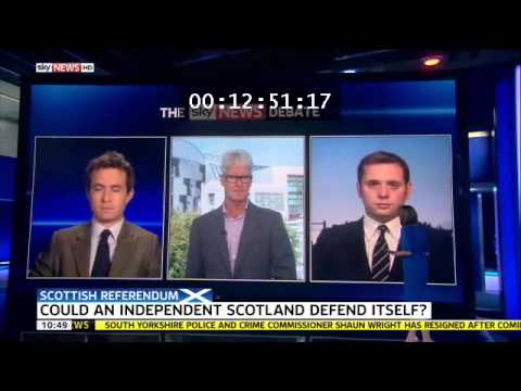 16 September: Douglas Murray joins Sky debate on Scottish defence capability