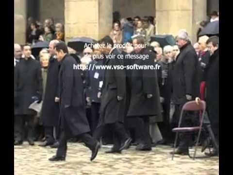 Nicolas Sarkozy bouscule le protocole aux obsèques de Lucie Aubrac 21 Mars 2007