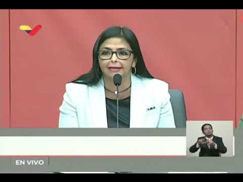 Delcy Rodríguez muestra videos de intercepción de buques de ExxonMobil en aguas venezolanas