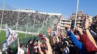 Reggina-Catania 2018/19 Curva Sud