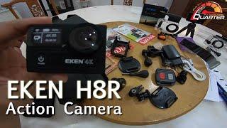 Eken H8R action camera | unboxing & Quik Review