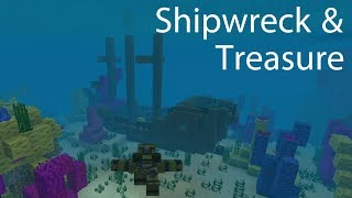 Minecraft Shipwreck & Buried Treasure Guide, Ahoy! & Me Gold! Achievements