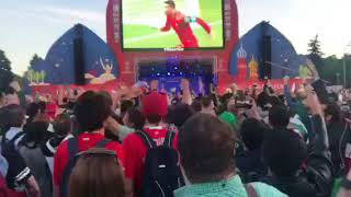 Португальские болельщики рады голу сборной в ворота Испании | Страна.ua
