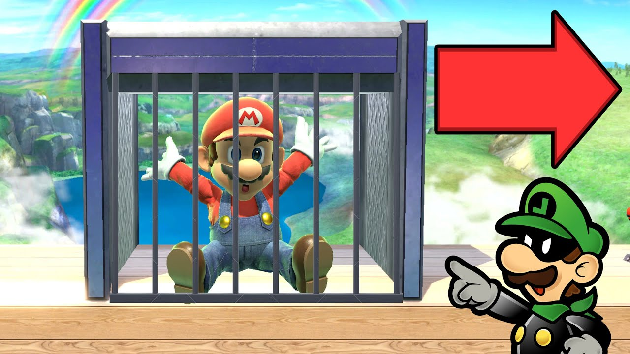 Super Smash Bros. Ultimate - Who Can Escape Prison?