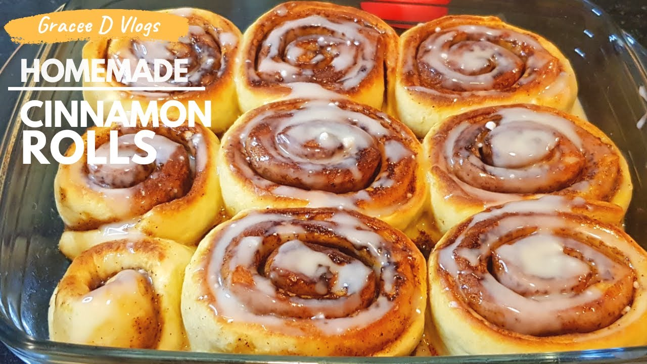 How To Make Homemade Cinnamon Rolls Recipe