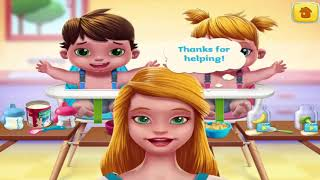 Cute Baby Twins Games - Play Fun Dress Up, Bath Time & Care Games For Kids