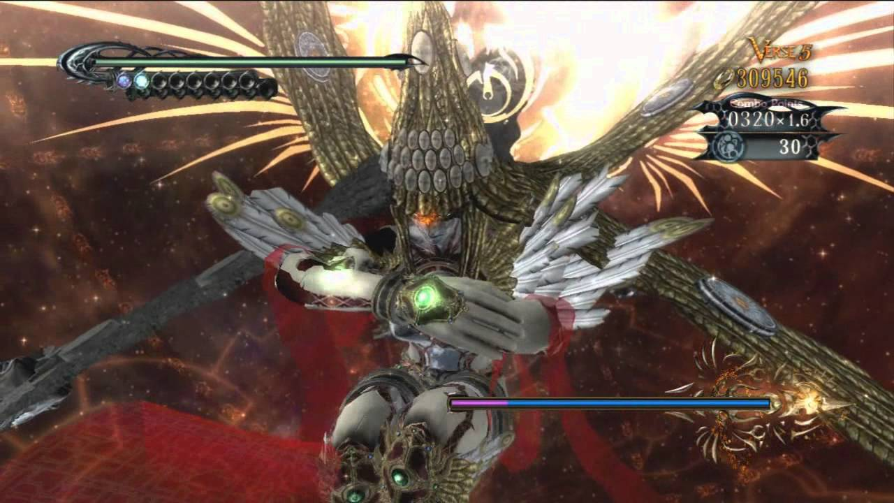 Bayonetta Boss Fight: Jubileus - YouTube