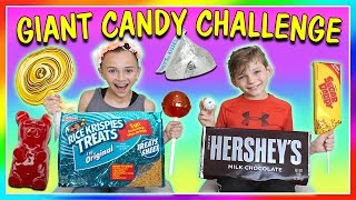 GIANT CANDY CHALLENGE!   We Are The Davises